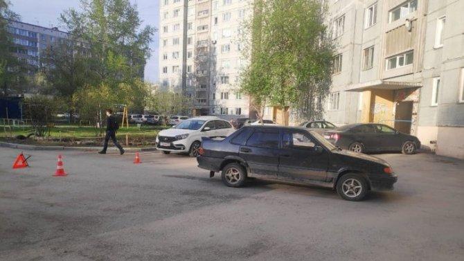 ВНовосибирске ВАЗ сбил мальчика на велосипеде