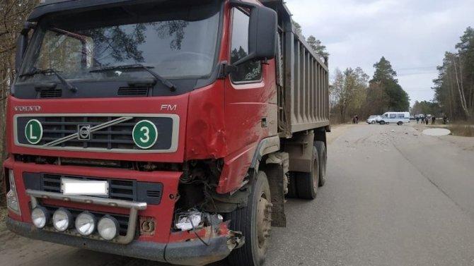 В ДТП с грузовиком в Угличском районе погиб мотоциклист
