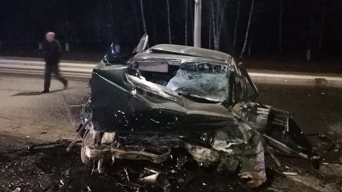 Водитель BMW погиб в ДТП под Оренбургом