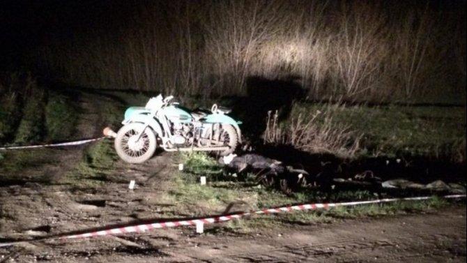 Пожилой мотоциклист погиб в ДТП в Тамбовской области