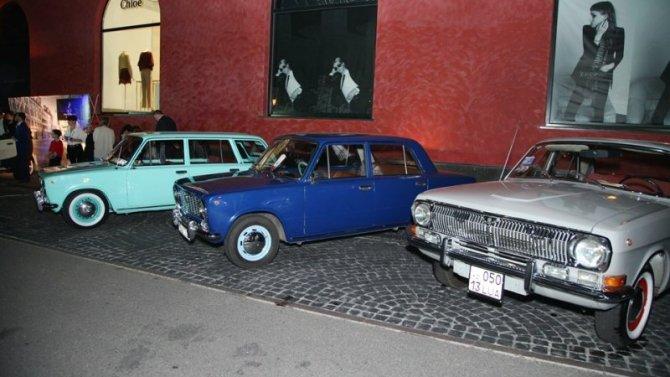 ВРоссии открылся салон советских ретро-автомобилей