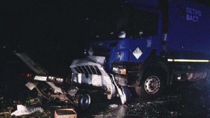 В ДТП с мусоровозом в Ленобласти погиб человек