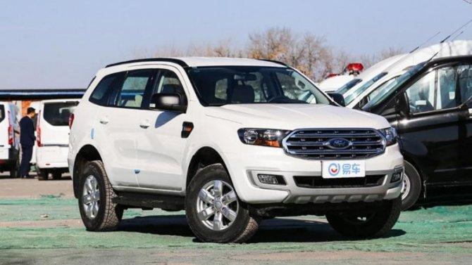 Обновлённый Ford Everest выходит нарынок