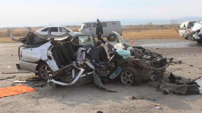 В ДТП в Хакасии погиб водитель