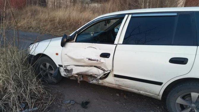 Мотоциклист пострадал в ДТП в Чите