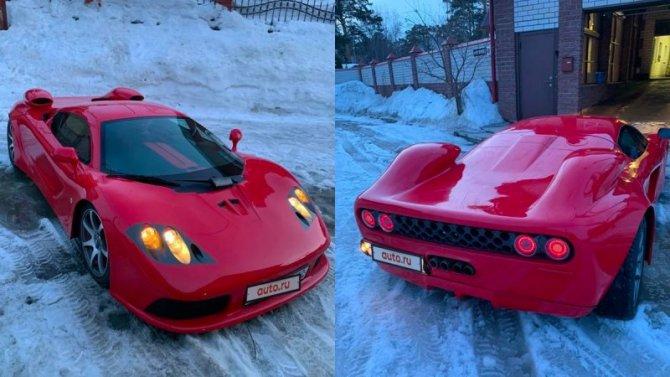 «Кулибин» изСибири превратил «Тойоту» вMcLaren F1