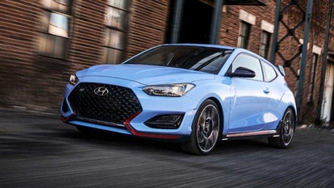 Hyundai Veloster Nполучил новую КПП