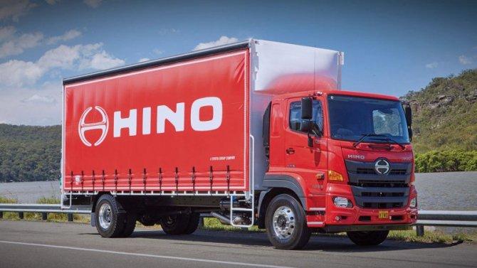 Hino 500— самый продаваемый грузовик страны Восходящего солнца