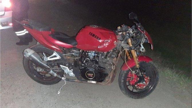 В ДТП в Белгородской области пострадал мотоциклист