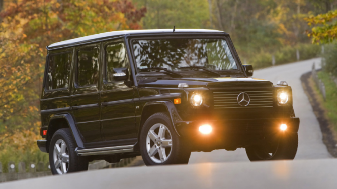 ВРоссии объявлен отзыв внедорожников Mercedes-Benz