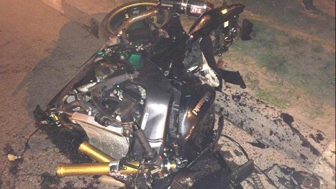 Мотоциклист попал в ДТП в Белгороде