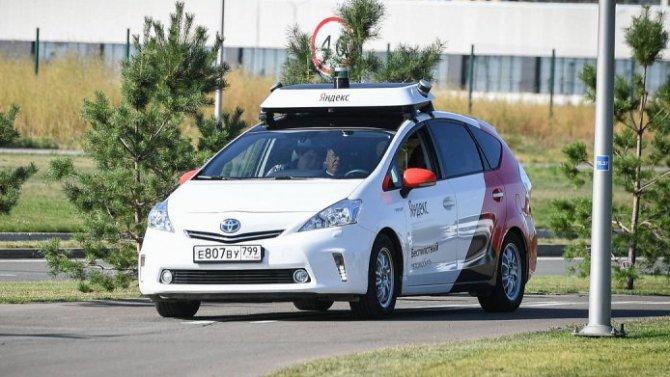 ВРоссии начинаются дорожные испытания беспилотных машин