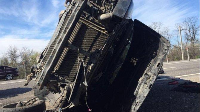 В Минераловодском округе при опрокидывании машины погибла девушка