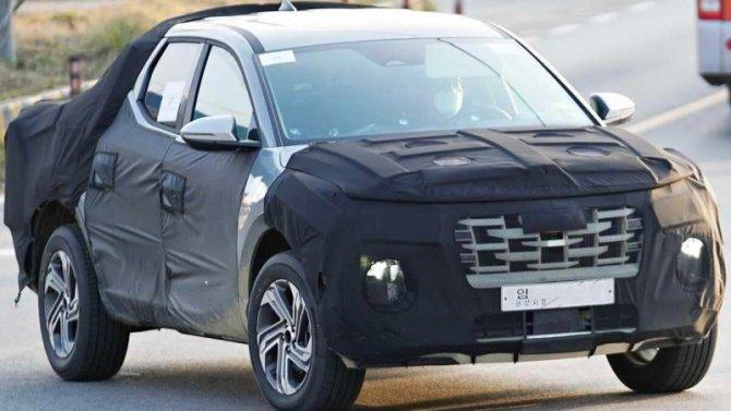 Завершаются испытания пикапа Hyundai Santa Cruz