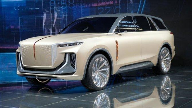 Готовится к выпуску первый электромобиль от Hongqi