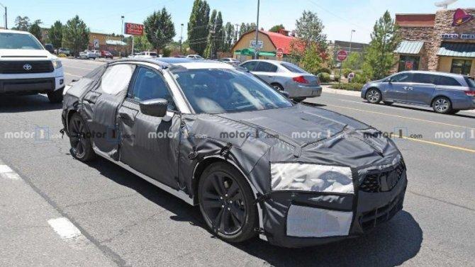 Обновлён седан Acura TLX Type S