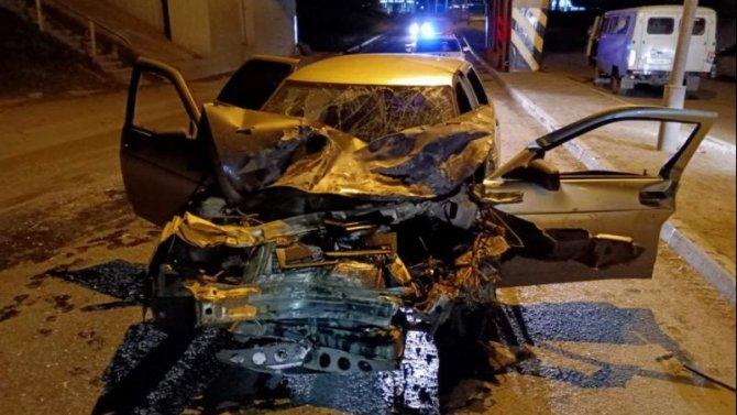 В Кургане по вине пьяного водителя пострадали три человека