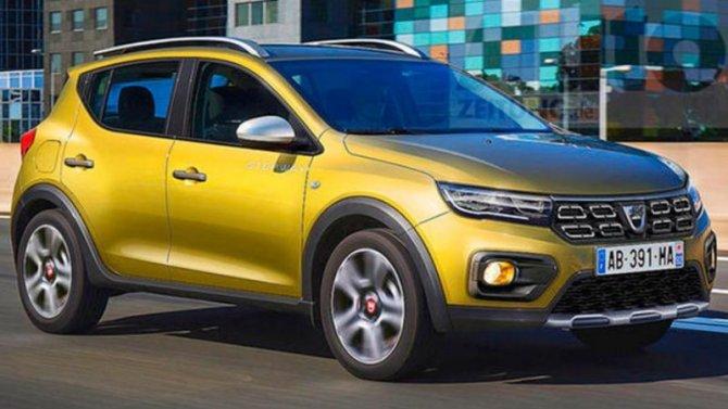 Появились снимки обновлённого Renault Sandero Stepway