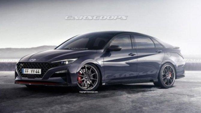 Hyundai Elantra N: появились подробности