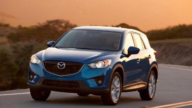 ВРоссии объявили оботзыве кроссоверов Mazda