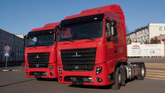 МАЗ начал выпуск новых грузовиков