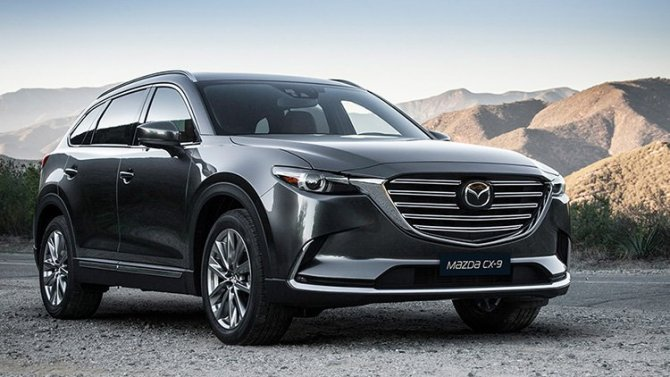 Падение рубля: подорожала Mazda CX-9