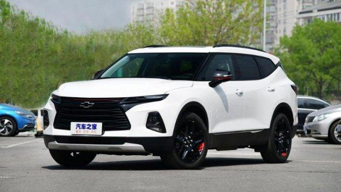 Начались продажи нового Chevrolet Blazer