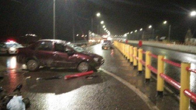 Водитель «Лады» погиб в ДТП на трассе Тюмень – Ханты-Мансийск