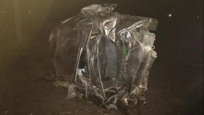 В Тамбовской области при опрокидывании ВАЗа погиб человек