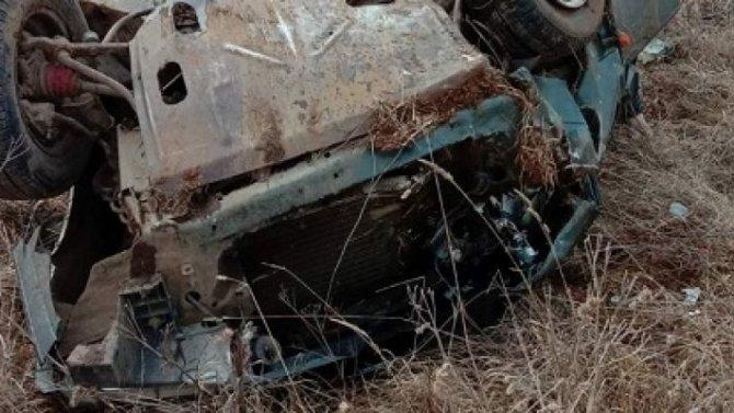 В Марий Эл погиб водитель опрокинувшегося ВАЗа