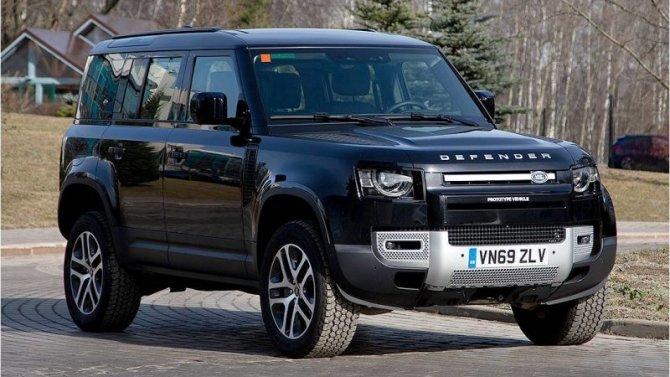 ВРоссии началось тестирование нового Land Rover Defender