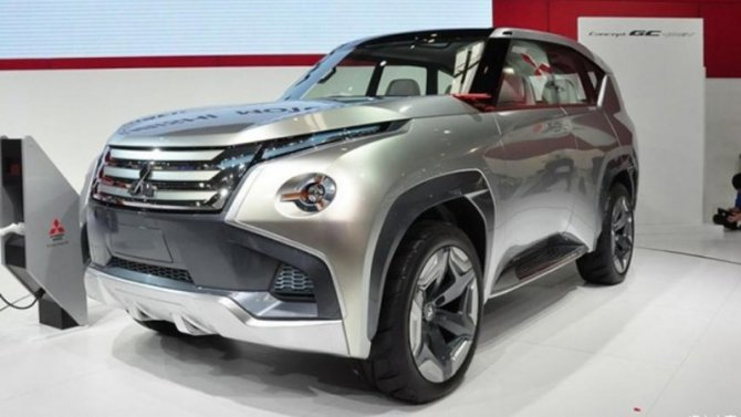 Вследующем году появится новый Mitsubishi Pajero