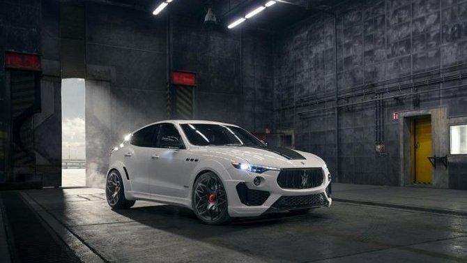 Maserati Levante обзавёлся новым пакетом тюнинга