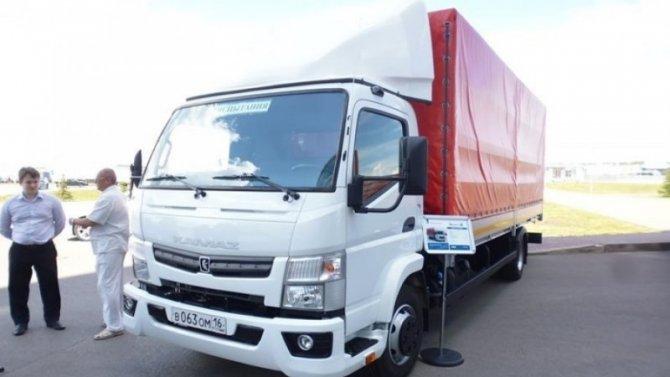 «КамАЗ» рассказал о новых грузовиках