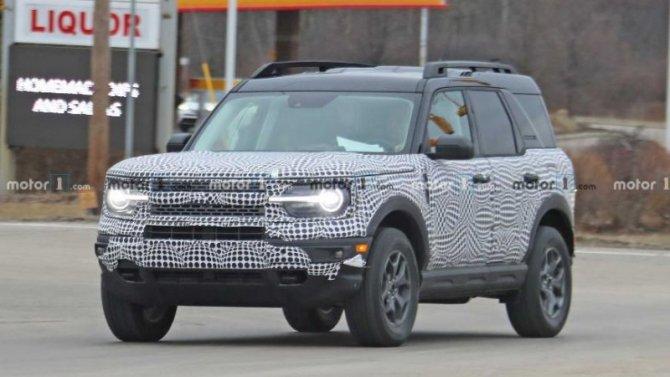 Ford Bronco Sport: известны комплектации