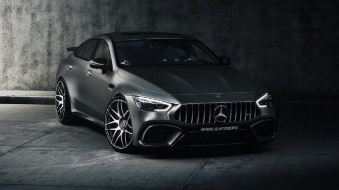 В Германии доработали Mercedes-AMG GT