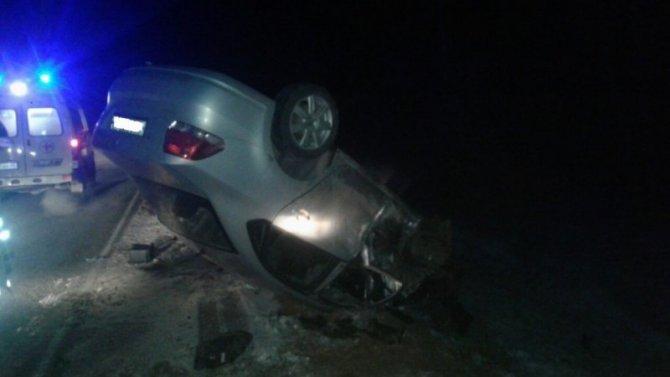 Под Калугой в ДТП в КамАЗом погиб человек