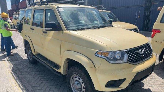 Куба закупила внедорожники «УАЗ Патриот»