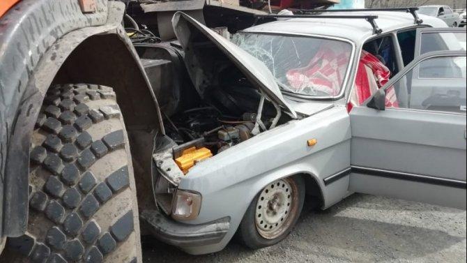 Водитель «Волги» погиб в ДТП под Оренбургом
