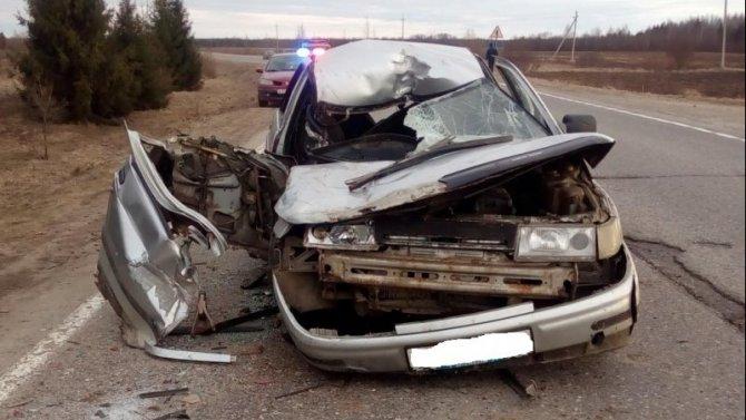 В ДТП в Сокольском районе погиб человек