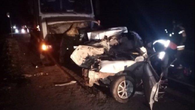 Две женщины погибли в ДТП в Тюменской области