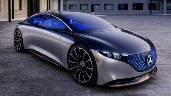 Стали известны данные электромобиля Mercedes-Benz EQS