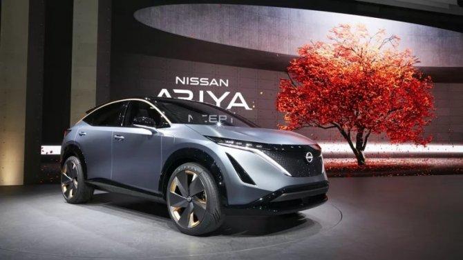 Винтернете появились патентные изображения электрокроссовера Nissan