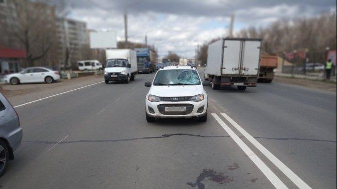 В Оренбурге сбили пешехода