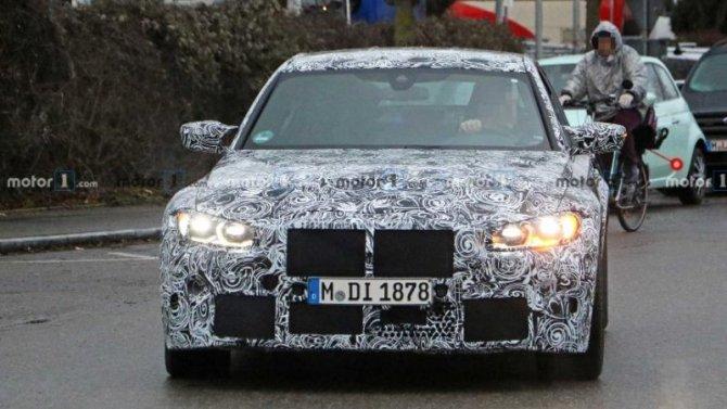 Начались испытания нового BMW M3