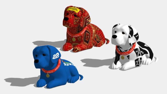 «Авто.ру» предлагает раскрашивать культовых собачек
