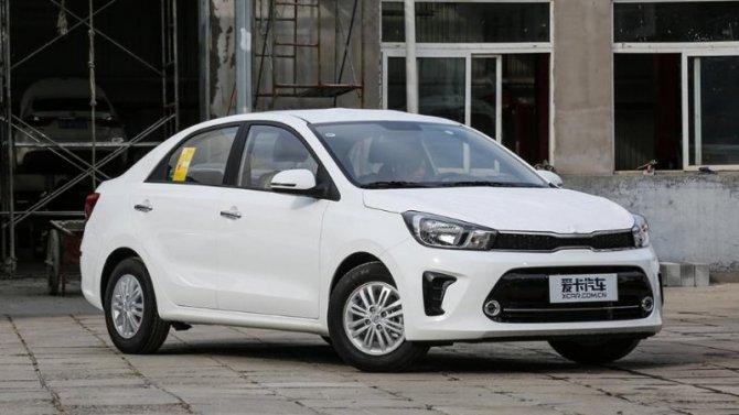 Начались продажи обновлённого седана KIA Pegas