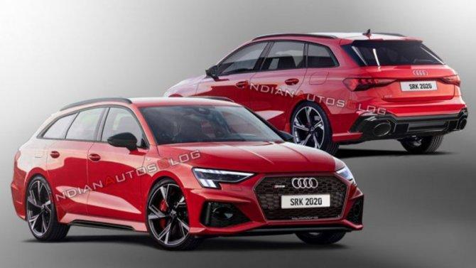 Показаны первые изображения нового AudiRS 3 Avant
