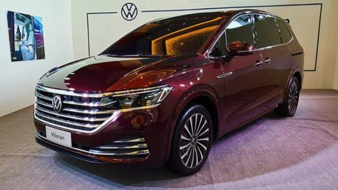 Скоро начнутся продажи минивэна Volkswagen Viloran