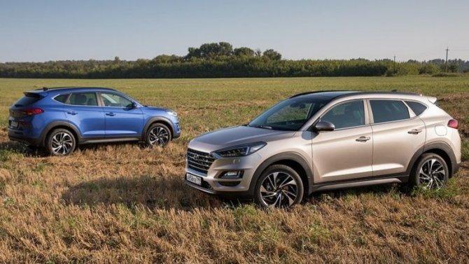 ВРоссию приехала новая версия Hyundai Tucson